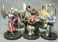 Dungeons & Dragons Miniatures Lot  Character Party Elite !!  s85