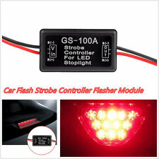 1 Pcs 12V GS-100A Car Truck LED Light Flash Strobe Controller Flasher Module Box