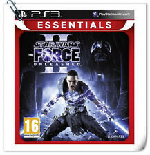 PS3 SONY PlayStation Games Star Wars The Force Unleashed 2 LucasArts Action