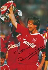 Ronnie Whelan Hand Signed Liverpool 12x8 Photo 4.