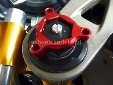 FORK PRE ADJUSTERS RED 22MM Aprilia RS250 RSV1000 Mille Tuono Falco R1F9