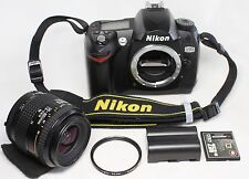 Nikon D D70 6.1MP Digital SLR Camera Body w/ Nikkor 35-80mm F4-5.6 AF D Lens