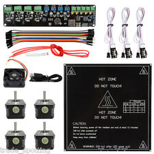 Melzi ATMEGA1284P + MK2a heatbed + Mechanical Endstop Kit For Reprap 3D Printer