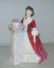 Royal Doulton figurine #2212 RENDEZVOUS pretty young girl with bowl of roses