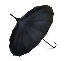 Lindy Lou Pagoda Umbrella - Black