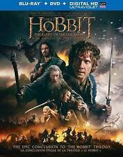 The Hobbit: The Battle of the Five Armies Blu-ray/DVD, 2015, 2-Disc Set,...