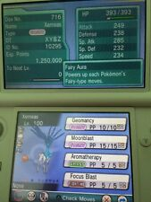 Shiny Xerneas/Yvetal evento Pokemon XY ORAS