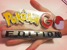 ❗️POKEMON GO EMBLEM ❗️CAR TRUCK LOGO SIGN NOT GAME ACCOUNT CHROME DECAL PLUS