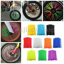 72x 21'' Wheel Spoked Wraps Trim Cover Motocross Pit Dirt Bike Enduro Supermoto