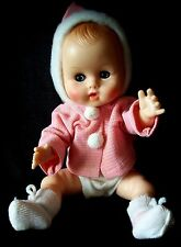 "Vtg 1960s/70s Vogue Baby Ginny Vinyl Doll 11"" Orig Clothes More Dolls Available"