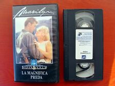VHS.04) LA MAGNIFICA PREDA - CBS FOX VIDEO (MARILYN MONROE, ROBERT MITCHUM)