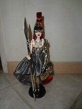 BARBIE  AS ATHENA 2010 GOLD LABEL USED