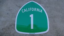 AUTHENTIC PACIFIC COAST HIGHWAY California Highway HWY 1 Road Sign PCH  24 X 24