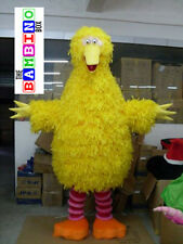 Sesame Bird Mascot Costume - Big Street - Plush Quality - Cute Muppet Peacock