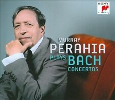 Murray Perahia plays Bach Concertos (CD, Jul-2011, 3 Discs, Masterworks) NEW