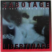 Sabotage  Qu'Est-Ce Que C'Est? Libertinage / Dark Star EP