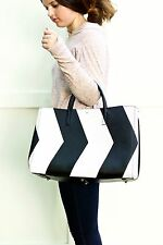 NWT Anya Hindmarch Ebury Maxi Featherweight Tote Chevrons  $2295!!!