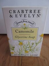 Crabtree & Evelyn Camomile Glycerine Soap 3.5 oz Full Size ~ New & Boxed ~ Rare