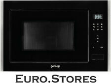 Gorenje BM251S7XG Built In Microwave Oven With Grill & Hot Air Black Genuine NEW
