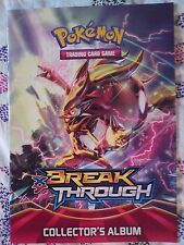 POKEMON XY BREAK THROUGH Card Album *NEW* EMPTY Book TCG Topps Merlin Panini Toy