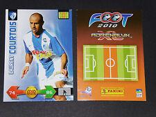 LAURENT COURTOIS FC GRENOBLE PANINI FOOTBALL ADRENALYN CARD 2009-2010