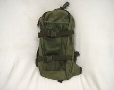 Olive drab green 2.5 liter capacity tactical hydration backpack complete new