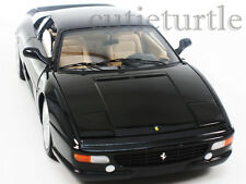 Hot Wheels Elite Ferrari F355 Berlinetta 1:18 Diecast Black X5478