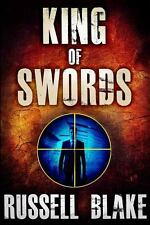 King of Swords : Assassin Series #1 by Russell Blake (2012, Paperback)
