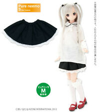 AZONE PureNeemo Romantic Girly Under Lace Skirt Black Fit Momoko Blythe Pullip