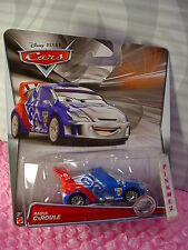 2015 CARS Pixar RAOUL CAROULE✿Silver Racer Series✿blue/red; GRC✿Disney✿1/55
