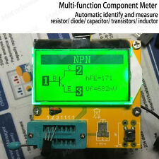 All-in-1 Digital Component Tester Transistor Diode Inductor Capacitor ESR Meter