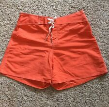 ROXY WOMEN'S BOARDSHORTS SWIM BOARD SHORTS. Neon Orange SZ 11 RCP
