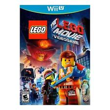 The LEGO Movie Videogame (Nintendo Wii U, 2014) video game complete mini fig toy