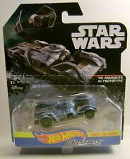 TIE ADVANCED X1 PROTOTYPE CAR STAR WARS CARSHIPS DISNEY HOT WHEELS DIECAST 2016