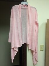 Lilly Pulitzer Cardigan Size Small/Medium Light Pink Open Front