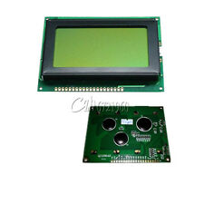 New 12864 128x64 Dots Graphic LCD Display Module Yellow Backlight