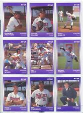 1990 Kenosha Twins STAR Scott Robles Baldwin Park California CA Baseball Card