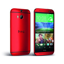 (Glamour Red) HTC One M8 32GB Dual Camera 4G LTE Unlocked Android Smart Phone