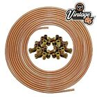 """3/16"""" COPPER BRAKE PIPE WITH 20 FREE METRIC UNIONS"""