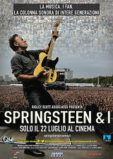 SPRINGSTEEN AND I MANIFESTO BRUCE SPRINGSTEEN RIDLEY SCOTT
