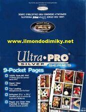 Yu-Gi-Oh!ULTRA PRO Silver Series Box da 100 pagine con 11 fori, 9 tasche per alb