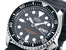 SEIKO Diver SKX007J1 Rubber Automatic Diver Watch Orologio 200m Japan Made