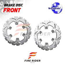 FRW 2x Front Brake Disc Rotor For HONDA VFR 750F 86-87 86 87