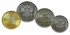 Russia set 4  monete   2016 FDC