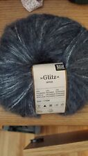 Rico Design mohair blend yarn #007 (charcoal)