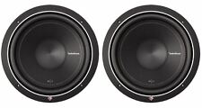 "(2) Rockford Fosgate Punch P1S2-12 P1 12"" 1,000w 2-Ohm Car Audio Subwoofers Subs"