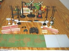 Lionel Trains Scenery, Signs, RR Crossing / Stop Lights, Lift Gates, & More
