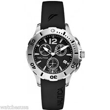 Nautica Men's N15614M BFD 101 Dive Style Chrono Mid Watch
