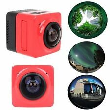 CUBE 360 Degree Mini Sports Action Camera WiFi  Wide Angle Panorama Camera