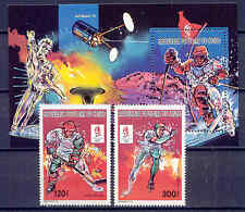 Olympiade 1992, Olympic Games, Space - Kongo - 1251-1252, Bl.64 ** MNH